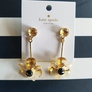 NWT Kate Spade blooming brilliantly flower earings